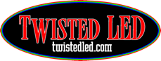Twisted LED Logo